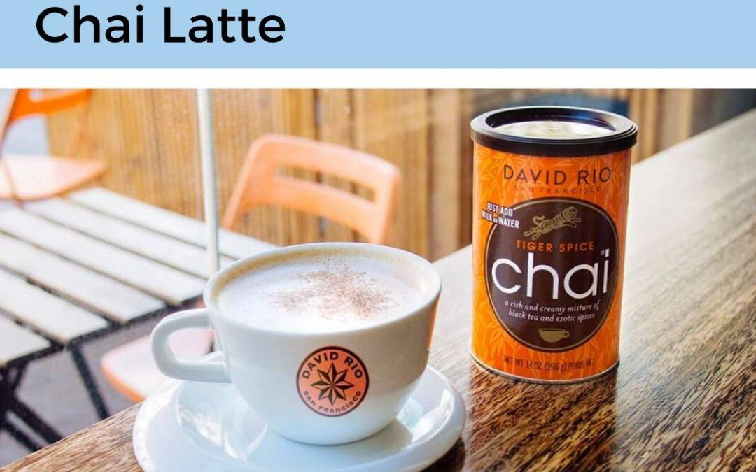 Nuevo Producto: Chai Latte